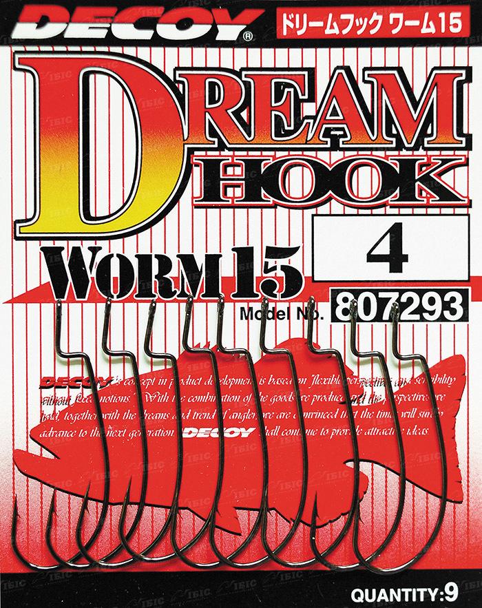 Купить Крючок Decoy Worm 15 Dream Hook 3/0