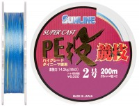 Шнур Sunline S-Cast PE Nagi Kyogi 200м #20/0235мм 143кг