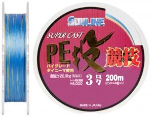 Шнур Sunline S-Cast PE Nagi Kyogi 200м #30/0285мм 209кг