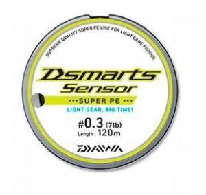 Шнур Daiwa Dsmarts sensor 0,09 мм (120 м)