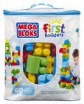 Конструктор классический Mega Bloks 60 деталей в мешке