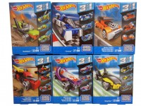 Конструктор Mega Bloks 3 в 1 Hot Wheels