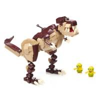 Конструктор Mega Bloks 'Миньоны Верхом на динозавре'