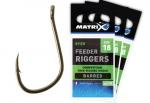 фото Крючок Matrix Feeder Rigger Hooks 16 #2