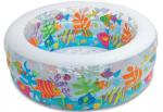 Бассейн, манеж и батут детский надувной 'Аквариум'
