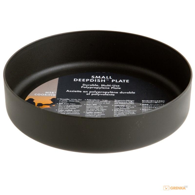 Миска MSR Deepdish Plate S Gray  - купить со скидкой