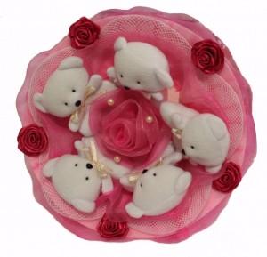 Подарок Букет из мишек 'Малинка'