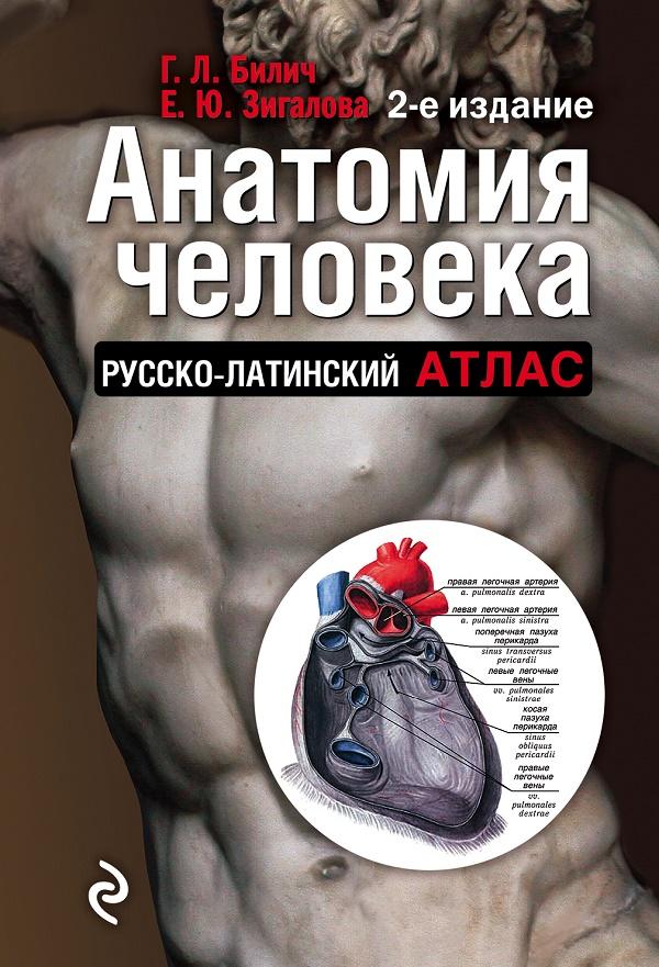 Купить Анатомия человека: Русско-латинский атлас. 2-е издание, Елена Зигалова, 978-5-699-87658-7