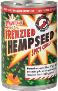 Прикормка Dynamite Baits Chilli Hempseed Tins 700г