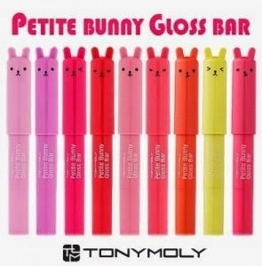 Подарок Помада-бальзам для губ Tony Moly Petite Bunny Gloss Bar