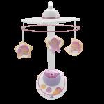 Игрушка на кроватку 'Волшебные звёздочки' розовая