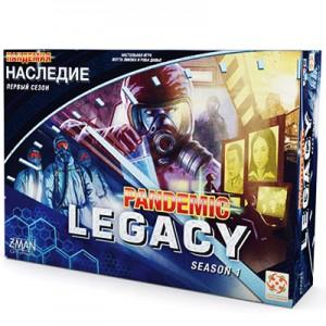 Настольная игра 'Пандемия: Наследие' Синяя коробка
