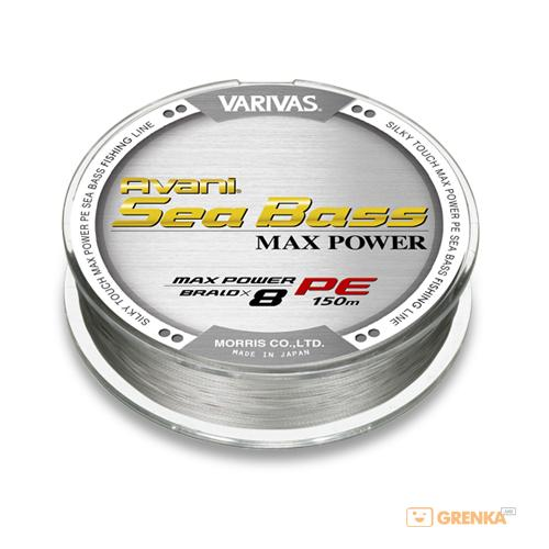 Купить Шнур Varivas New Avani Sea Bass Max PE #1.2 (150 м)