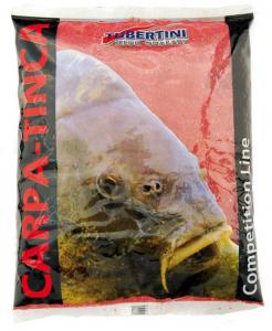 Прикормка Tubertini Mangime Carpa Tinca Rosso 1 кг
