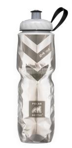 Подарок Спортивная бутылка для воды Polar 'Insulated Chevron Black'