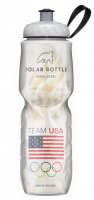 Подарок Спортивная бутылка для воды Polar 'Insulated Team USA Flame'