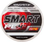 Шнур Favorite Smart PE 4x (салатовый) 13кг