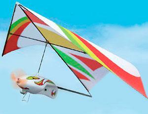 Купить Самолёт-дельтаплан электромоторный ZT Model Q-Shark 250 мм