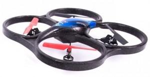 Квадрокоптер на радиоуправлении 2.4GHz WL Toys V606 Cyclone Mini (синий)