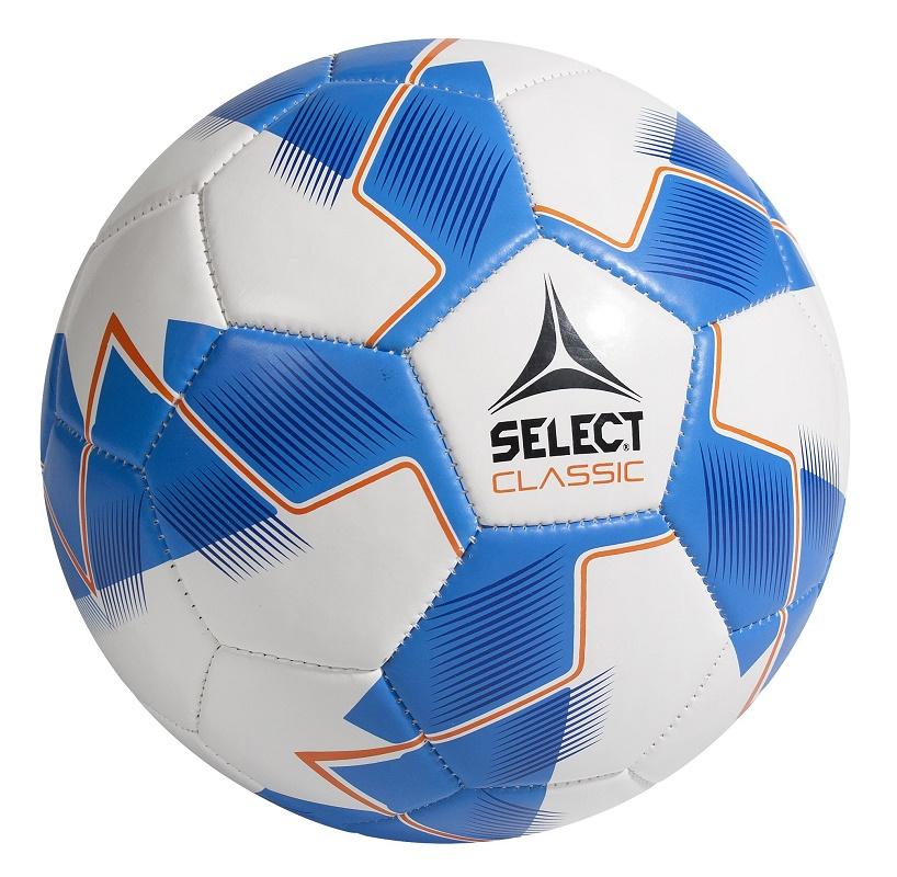 Мяч футбольный 'Select Classic 3' бело-синий