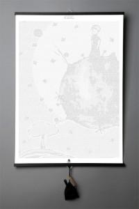 Подарок Книга-картина 'Antoine de Saint-Exupéry. The Little Prince'