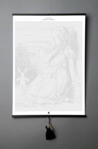 Подарок Книга-картина 'Lewis Carroll. Alice in Wonderland'