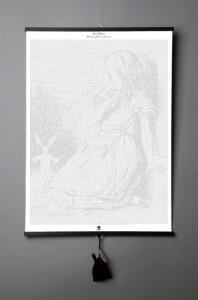 Подарок Книга-картина 'Льюис Кэрролл. Приключения Алисы в Стране чудес'
