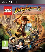 игра LEGO Indiana Jones 2: The Adventure Continues PS3