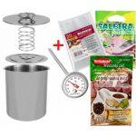 Подарок Ветчинница ВIOWIN + в подарок термометр, набор пакетов, специи на 3 кг мяса