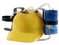 Подарок Каска 'Свободные руки' с крепежами для воды