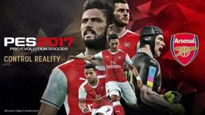 игра Pro Evolution Soccer 2017 PS4