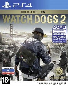 игра Watch Dogs 2. Gold Edition PS4