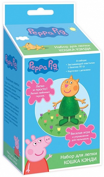 Набор для лепки Кошка Кенди Peppa Pig