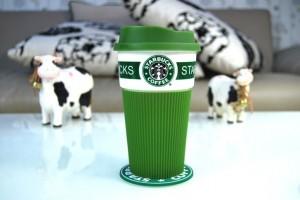 фото Чашка Starbucks Еco Life (зеленая) #3