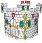 Игровой картонный домик Bino 'Замок'
