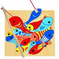 Развивающие магнитные пазлы Bino 'Рыбалка'