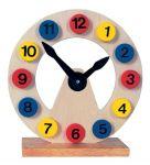 Развивающие деревянные часы Bino