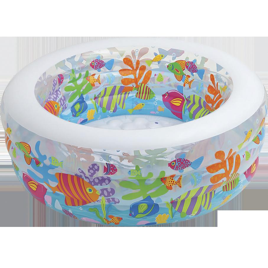 Бассейн, манеж и батут детский надувной Аквариум