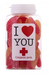 Конфеты Сладкая доза 'Я люблю тебя'