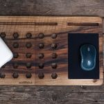 Подарок Деск для ноутбука из дерева