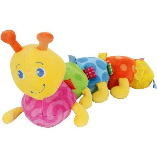 Мягкая игрушка Bright Starts Разноцветная гусеница