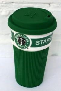 фото Чашка Starbucks Еco Life (зеленая) #2