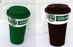 фото Чашка Starbucks Еco Life (коричневая) #6