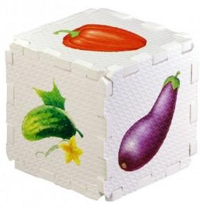 Кубик EVA. Овощи