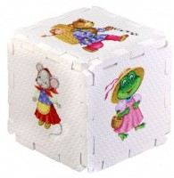 Кубик EVA. Сказочные животные