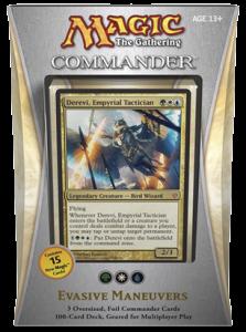 MTG Commander 2013 - Evasive Maneuvers (green, white, blue)