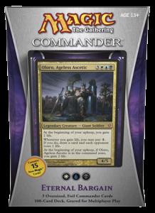 MTG Commander 2013 - Eternal Bargain (white, blue, black)