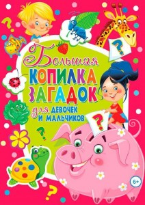 Книга Большая копилка загадок для девочек и мальчиков