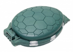 Коробка-черепашка Lineaeffe для рыболовных пренадлежностей 11 х 7.5 х 3см 12 отделений