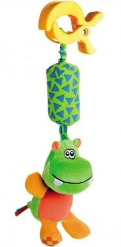 Игрушка-подвеска с колокольчиком Canpol babies 'Бегемотик'  - купить со скидкой
